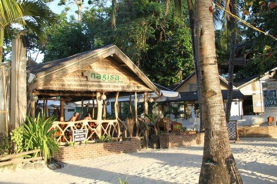 Surfside Boracay Resort & Spa: Так выглядит вход  отель,  сначала кафе