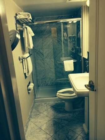Warwick Allerton-Chicago: Good size bathroom