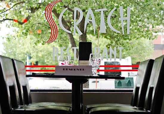 Scratch Restaurant & Lounge: Scratch... from inside looking out.