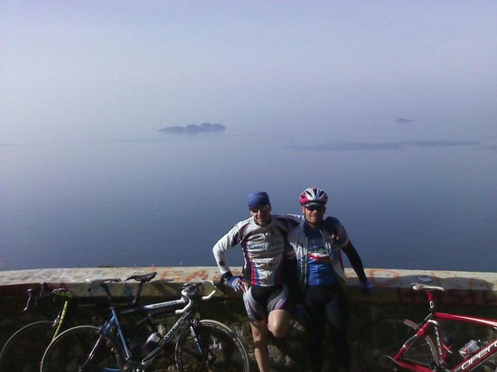 Sorrento in bici