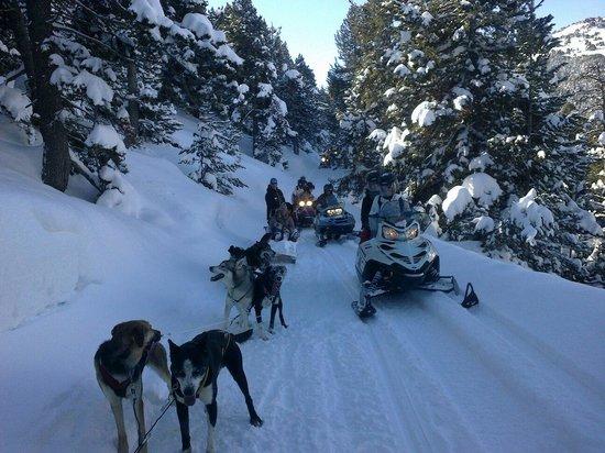Montgarri Outdoor : Excursiones en trineo y motos de nieve