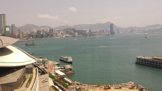 Renaissance Harbour View Hotel Hong Kong: Nice view