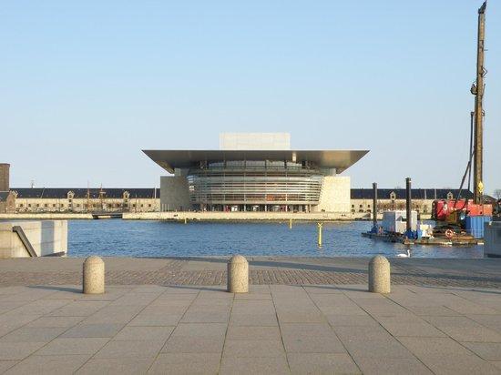 Copenhagen Opera House from across the river