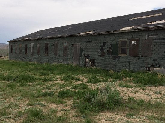 Heart Mountain Interpretive Center: An original camp detainee building (1942-45)