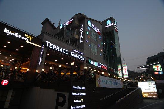 Benikea Chaeseokgang Starhills Hotel: 야간전경