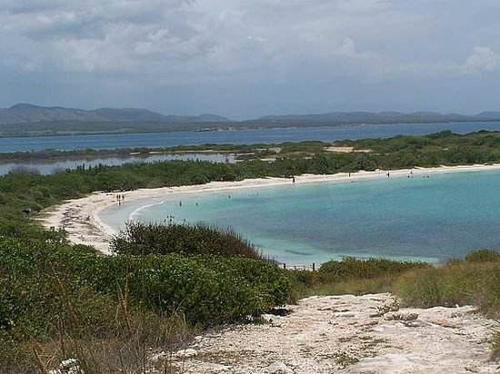 Playa Sucia: A view of Playuela from Los Morrillos lighthouse