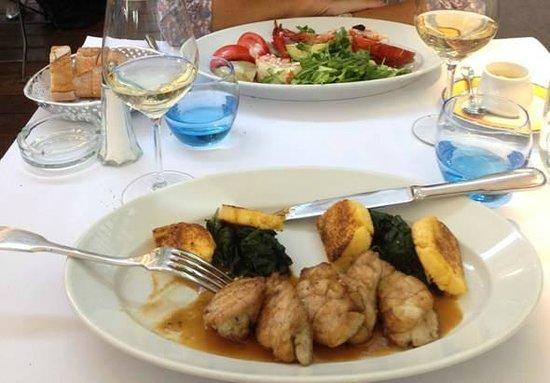 Brasserie l'Est : Ris de veau et demi-homard chez Bocuse, en terrase à l'Est