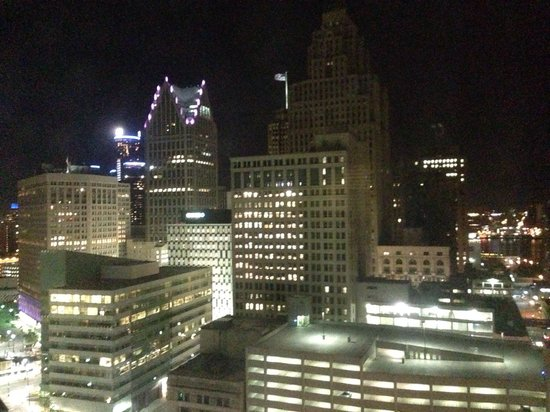 The Westin Book Cadillac Detroit: View from room 2131