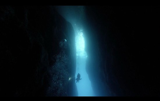 Utina Diving College Limited: Underwater view of Azure Window, Dwejra, Gozo