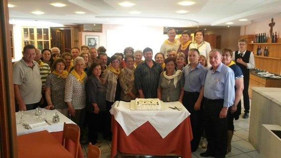 Hotel Colonne: Gruppo devoto a Padre Pio