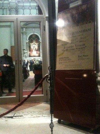 Interpreti Veneziani : Durante il concerto