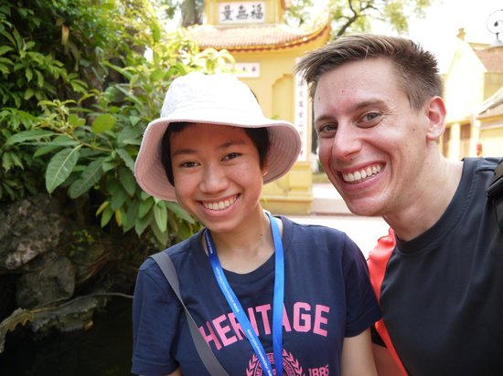 Vietnam Awesome Travel: My tour guide and I