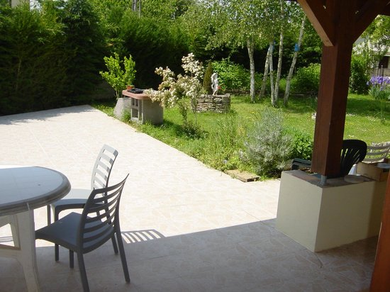 Annoire, France: Terrasse