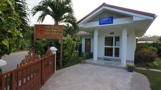 Cote d'Or Apartments: Reception