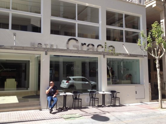 Hotel Gracia: ingresso hotel