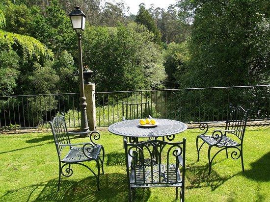 Hotel Rural Torre do Río: Un rincón exquisito del jardín