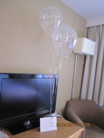 Village Hotel Coventry : Anniversary gesture
