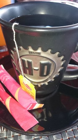 Nicky's Handlebar Hotel: i love the cup~!