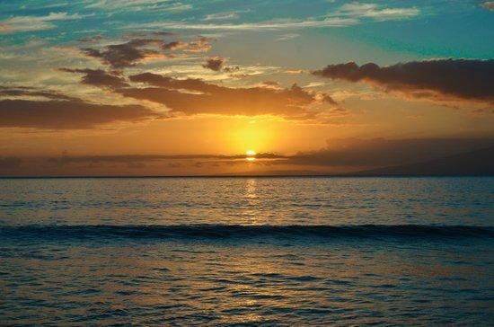 Aston Kaanapali Shores: Kaanapali Sunset