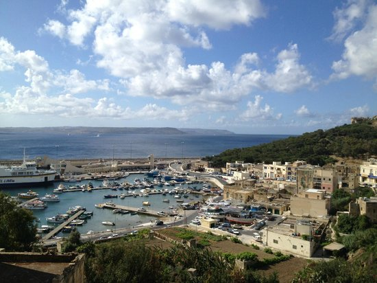 Grand Hotel Gozo: the view from room 310