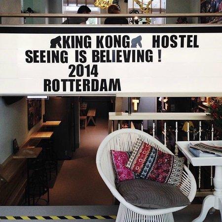 King Kong Hostel: Hip & Spacious lounge!