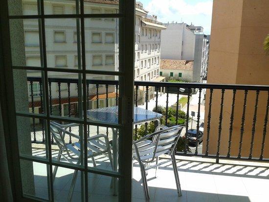 Hotel Cervantes: terraza