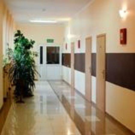 Hotel Elda: Korytarz