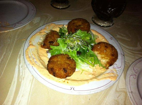 Pupu Lounge Seafood & Grill : Crab cakes... ottimi!