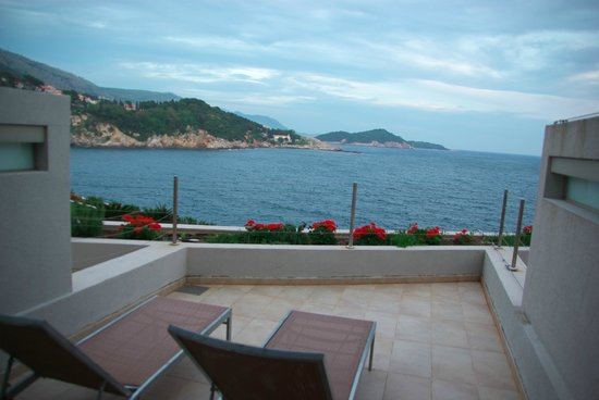 Rixos Hotel Libertas: Fifth-floor balcony view