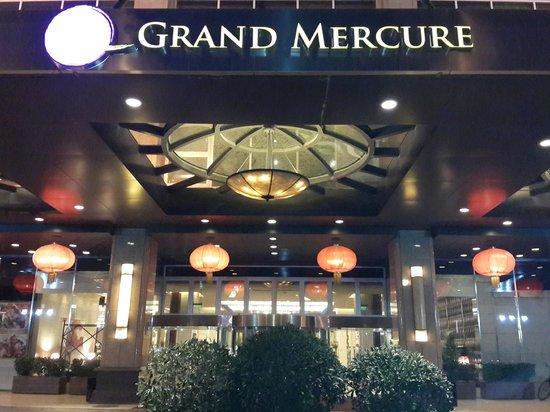 Grand Mercure Beijing Central: entrance