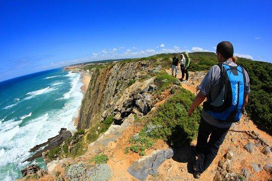 Walk Hike Portugal: vista da Praia Grande