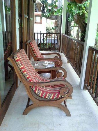 The Studio Bali: balcony