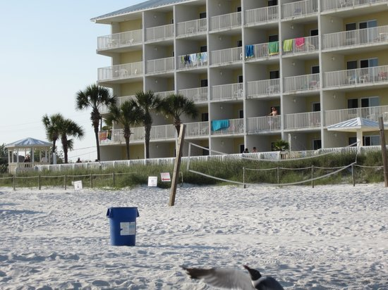 Sugar Sands Inn and Suites: Sugar Sands from the beach