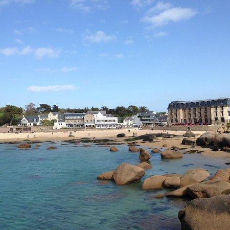 Hotel Saint Guirec et de la Plage : écrin de beauté