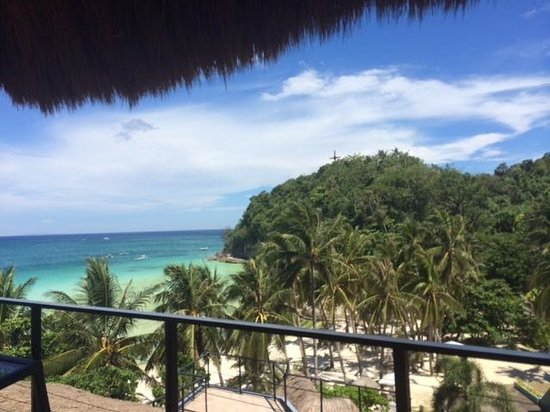 Punta Rosa Boutique Hotel: View from the rooftop terrace