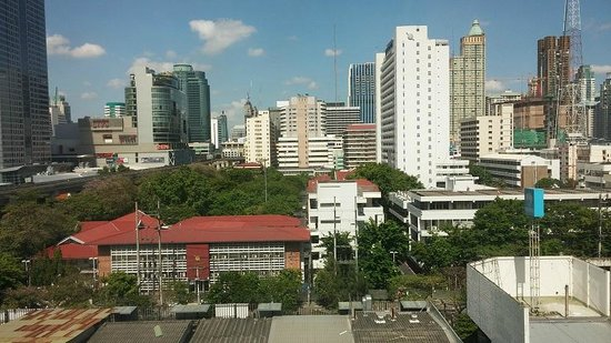 Novotel Bangkok on Siam Square : City view from our room