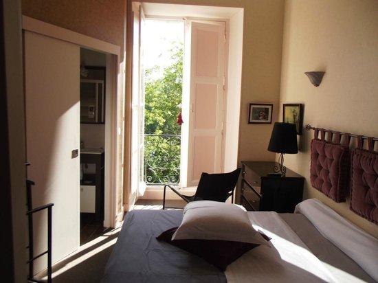 Hostellerie Val de Creuse : CHAMBRE VUE SUR CREUSE