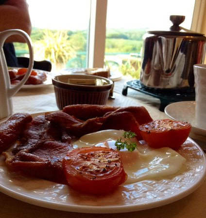Ardlenagh View: Irish breakast with a view