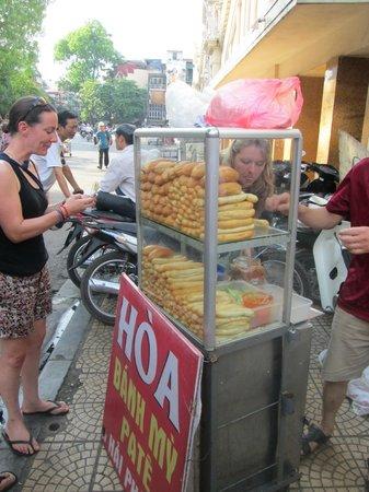 Hanoi Urban Adventures: Stick Bread