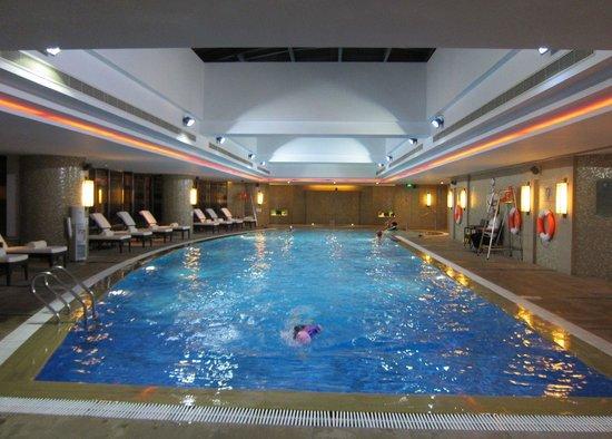 Swissotel Grand Shanghai: The 20 mt swimming pool on the 5th floor