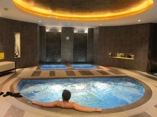 Swissotel Grand Shanghai: Jacuzzi and hot bath area