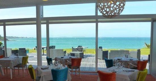 Hotel Restaurant Ker Mor : Salle de restaurant