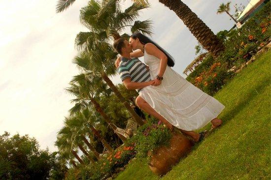 Dinler Hotels - Alanya: Палисадник близ пляжа
