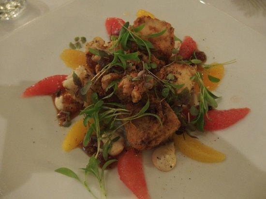 221 Restaurant & Bar: A pork appetiser