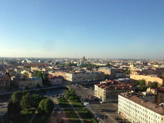 Azimut Hotel Saint Petersburg: Blick auf das Zentrum