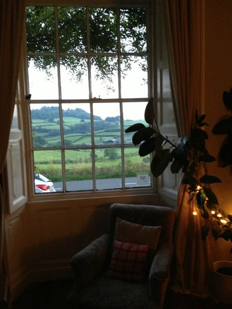 Crosthwaite House: View from the sitting room