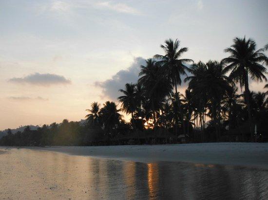 Koh Mook Sivalai Beach Resort : Abendstimmung