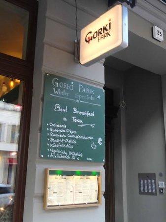 Gorki Park: Comrade! Check the chalkboard.