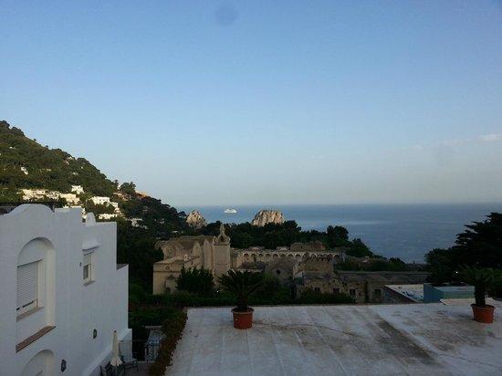 La Residenza Capri: Foto da solarium