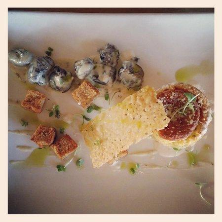 Longridge Restaurant: Cheese soufflé